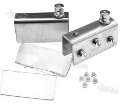 pair glass door pivot hinge set for 8