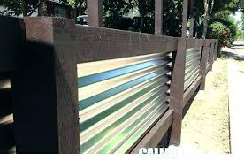 corrugated steel fence corrugated steel fence design galvanized corrugated steel fence diy corrugated metal and wood
