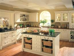 Large Kitchen Tuscan Kitchen Design White Cabinets Outofhome