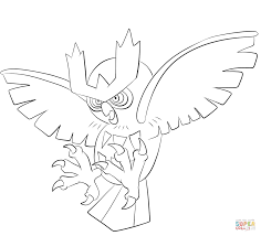 Small Picture Noctowl coloring page Free Printable Coloring Pages