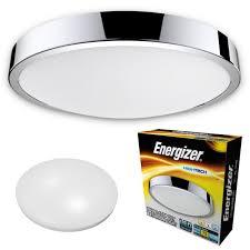 energizer cct led bathroom ceiling ip44 warm cool daylight white light fitting