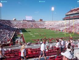 Gaylord Family Oklahoma Memorial Stadium Section 46 Seat