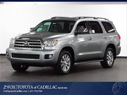 New 2016 Toyota Sequoia For Sale/Lease in Cadillac MI | Near ...