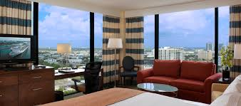 living group london miami hilton miami downtown hotel guest room