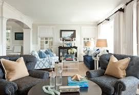 ... Comely Image Of Nautical Themed Home Decoration Ideas : Archaic Coastal Living  Room Decoration Using Light ...