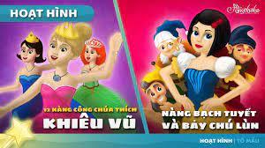 12 Nàng Công chúa thích Khiêu vũ câu chuyện cổ tích hoạt hình phim