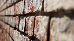 old brick wall of factory