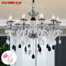 <b>Modern Mixed Crystal Chandeliers</b> For Living room Kitchen ...