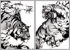 炎上勝海麻衣銭湯絵師が猫将軍の虎を盗作疑惑でもドヤ顔画像で検証
