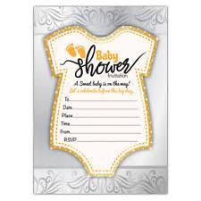 Baby Shower Invitations Party Invites Ebay