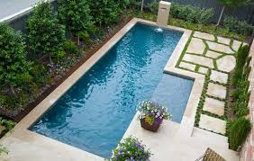 Brilliant Small Rectangular Pool Designs View In Gallery O And Design