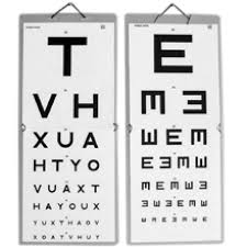 Snellen Chart 6 6 6m Folding Snellen Eye Test Type Tvh E