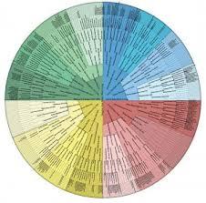 Genealogy Fan Chart Genealogy Wall Charts