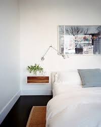 Floating Shelves As Bedside Table