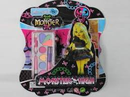 kaishimei provides orted cosmetics for our monster high dolls in the makeup set you can get colorful makeup collections including eye shadow rouge