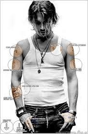 Johnnyho Tetování We Heart Johnny Depp
