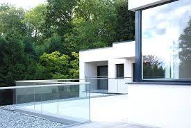 First Floor Terrace Design First Floor Terrace Of New Build Contemporary House In