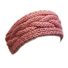 Cable Knit Headband Pattern