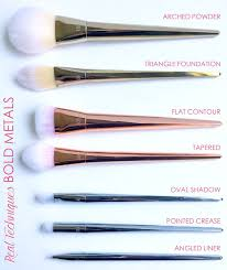 oval makeup brushes review. bold metals makeup brushes review oval o