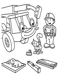 Small Picture Free Printable Bob The Builder Coloring Pages For Kids Coloration