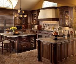 cherry kitchen cabinets. Delightful Kitchen Design Cherry Cabinets With U Shaped Decora F