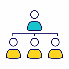 Business Management And Teamwork Filled Color By Bsd Studio