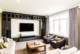 furniture ideas for family room. Family Room Decorating Ideas. Furniture Layout. Media Built-in Ideas For