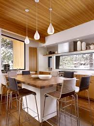 image of contemporary pendant lighting for kitchen