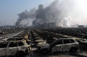 「2015年天津浜海新区倉庫爆発事故」の画像検索結果
