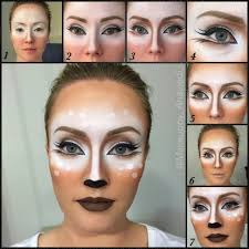 make up tutorial karneval bambi reh deer more itsgilda 2016 10 tutorial bambi deer for html fasching