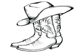 Hat Coloring Pages Page Picturesque Free Printable Cowboy Hat