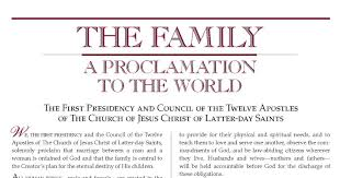 The Family A Proclamation To The World