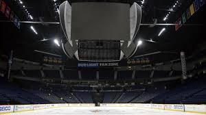 Bud Light Level Bridgestone Arena Photos Preds Install Ice At Bridgestone Arena
