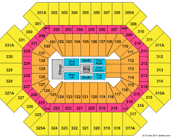 Thompson Boling Arena Concert Seating Chart 56 Rare Thompson Boling Arena Seating Capacity