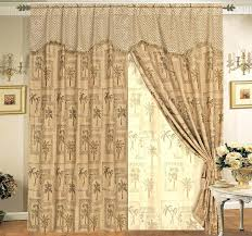 palm tree curtains curtain and valance sets classic palm tree curtain set w curtain design palm