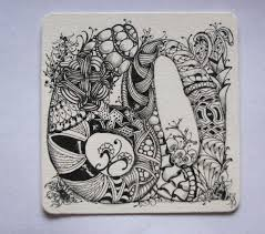 Official Zentangle Patterns New Decoration