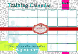 Training Calendar Template 25 Free Word Pdf Psd Documents