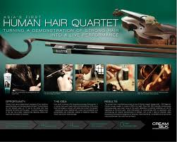 photo the human hair quartet case study for the cream silk conditioner