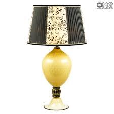 Table Lamp Persian Queen Blown Original Murano Glass