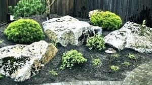 gardening rocks big for garden modern large landscaping amazing in yard home landscape sacramento lava