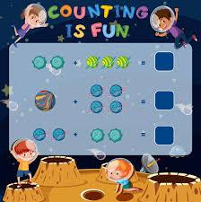 Math Is Fun Multiplication Chart Math Fun Stock Illustrations 5 356 Math Fun Stock