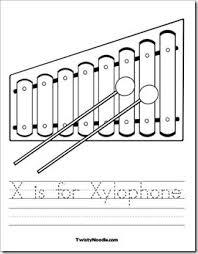 Small Picture 11 best Letter X Worksheets images on Pinterest Alphabet