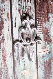 Fleur De Lis Coat Rack Cast Iron Victorian Wall Hook Decorative Coat Rack Metallic Silver 95