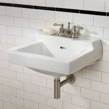 wall mounted sinks for small bathrooms  home design ideas
