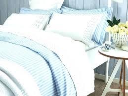 beautiful blue stripe duvet cover duvet cover vintage ticking stripe duvet cover sham blue