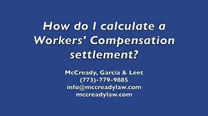 California Workers Comp Settlement Chart How Do You Calculate A Workers Compensation Settlement