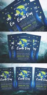 Earth Day Party Flyer Template Ai Psd Download Design