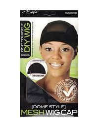 magic diy wig cap dome style
