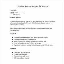 Sample Resumes For Freshers For It Jobs Resume Corner