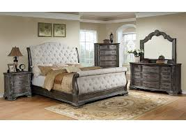 king sleigh bed antique grey upholstered king sleigh mark trishley king sleigh bedroom set